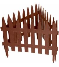 Декоративное ограждение «Рейка» (0,28 × 3 м, терракотовый)