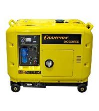 Дизельный электрогенератор CHAMPION DG 6501ES + ATS