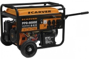 Бензиновый электрогенератор CARVER PPG-8000E