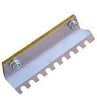 Нож для льда FISHTOOL Barracuda 250 мм (прямой зубчатый)