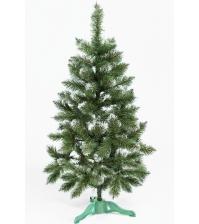 Ель искусственная «ЛИДИЯ» (зелёная с инеем, 120 см)