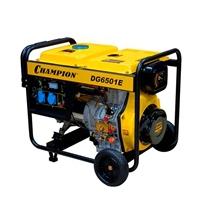 Дизельный электрогенератор CHAMPION DG 6501E
