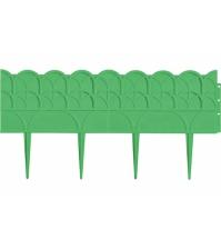 Декоративный бордюр «Прованс» (0,14 × 3,1 м, зелёный)