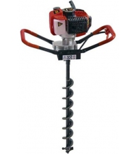 Мотобур LIDER GD-2000 + шнек для почвы 150х800 мм