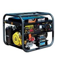 Бензиновый электрогенератор HUTER DY8000LXA с блоком ATS