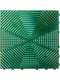 Садовое напольное покрытие HELEX (упаковка 1 м², размер 40×40 см, зелёный)