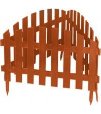 Декоративное ограждение «Винтаж» (0,28 × 3 м, терракотовый)
