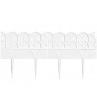 Декоративный бордюр «Прованс» (0,14 × 3,1 м, белый)