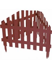 Декоративное ограждение «Марокко» (0,28 × 3 м, терракотовый)