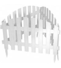 Декоративное ограждение «Винтаж» (0,28 × 3 м, белый)