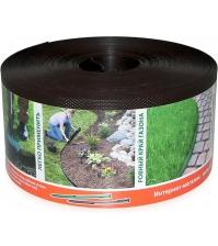 Бордюрная лента ПРОТЭКТ БЛ-10/30 (10 × 3000 см, коричневая)