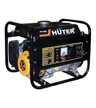 Бензиновый электрогенератор HUTER HT1000L