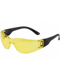 Очки защитные открытые ОЧК202 (жёлтые)