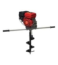 Мотобур ADA GroundDrill-14 + шнек для почвы 300х800 мм
