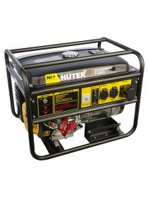 Бензиновый электрогенератор HUTER DY8000LX