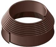 Бордюрная лента ПРОТЭКТ «Канта» БЛК-10/10 (10 × 1000 см, коричневая)