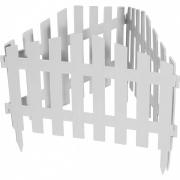 Декоративное ограждение «Марокко» (0,28 × 3 м, белый)
