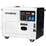 Дизельный электрогенератор HYUNDAI DHY 8000SE
