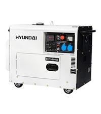 Дизельный электрогенератор HYUNDAI DHY 6000SE