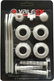 Комплект для монтажа радиаторов VALFEX 3/4'' (3 кронштейна)