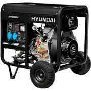 Дизельный электрогенератор HYUNDAI DHY 8000LE