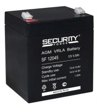 Аккумуляторная батарея SECURITY FORCE SF 12045