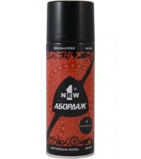Краска-спрей 1NEW «ABORDAGE AB-004» (чёрная матовая)