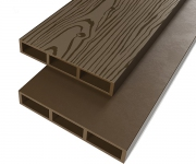 Доска для грядок ПРОТЭКТ ДПК-1000/150 (0,15 × 1 м, коричневая)