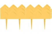 Декоративный бордюр «Кантри» (0,14 × 3,1 м, жёлтый)