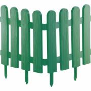 Декоративное ограждение «Классика» (0,29 × 2,24 м, зелёный)
