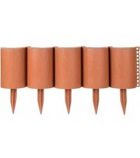 Декоративное ограждение «Садовый конструктор» (0,15 × 3 м, терракотовый)