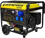 Бензиновый электрогенератор CHAMPION GG6501E + ATS