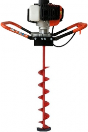 Мотобур для зимней рыбалки FORWARD FEA-52/2600 + шнек для льда ТОНАР 130х1000 мм