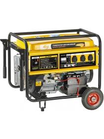 Бензиновый электрогенератор DENZEL GE6900E