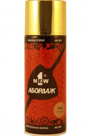Краска-спрей 1NEW «ABORDAGE AB-3049» (супер золото)