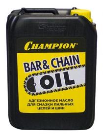 Масло CHAMPION для смазки цепи и шины (5 л)