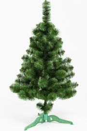 Ель искусственная «ПРИНЦЕССА» (зелёная с инеем, 130 см)