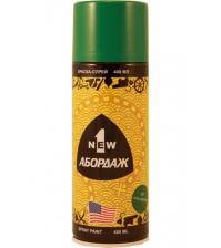 Краска-спрей 1NEW «ABORDAGE AB-037» (сочно-зелёная)