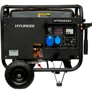 Бензиновый электрогенератор HYUNDAI HY 9000SER
