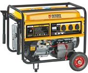 Бензиновый электрогенератор DENZEL GE8900E