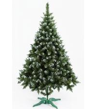 Ель искусственная «РОЖДЕСТВЕНСКАЯ» (зелёная с инеем, 210 см)