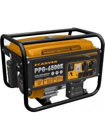 Бензиновый электрогенератор CARVER PPG-6500E