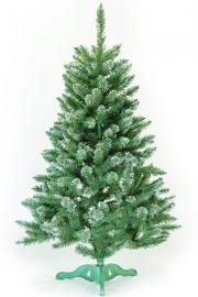 Ель искусственная «РОЖДЕСТВЕНСКАЯ» (зелёная с инеем, 180 см)