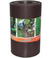 Бордюрная лента ПРОТЭКТ БЛ-20/10 (20 × 1000 см, коричневая)