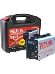 Инвертор сварочный РЕСАНТА САИ-220 в кейсе