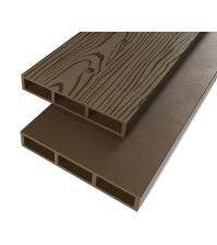 Доска для грядок ПРОТЭКТ ДПК-3000/150 (0,15 × 3 м, коричневая)